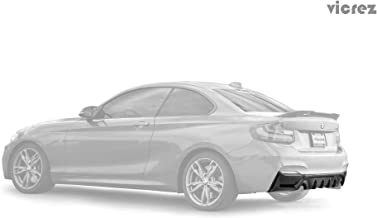Vicrez BMW 2 Series F22 M sport 2014-2017 VZ5 Carbon Fiber Rear Diffuser - vz100426