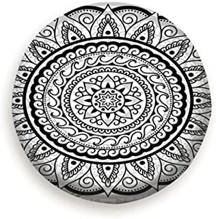 NGuns Decorative Ornament Ethnic Oriental Style Asian Vintage Spare Tire Cover Dust-Proof Universal Spare Wheel Tire Cover Fit for Trailer, RV, SUV and Many Vehicle 14