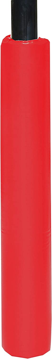 Square or Round 1 Inch Thick Foam Hook /& Loop Closure 6 Ft Tall Safety Pole Pad WePadIt Made in USA