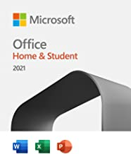Microsoft Office Home and Student 2021, One-Time Purchase - Email delivery in 1 hour| Lifetime Validity, 1 Person, 1 PC or...