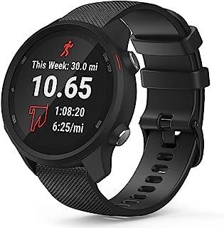 TUSITA Quick Release 20mm Horlogeband voor Garmin Approach S40 S12 S42,Forerunner 245 645,Venu Sq,Vivoactive 3 Music,Vivom...
