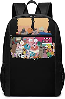 Funny Fashion Adult The Amazing World Of Gumball Mimeograph rn Backpacks Black