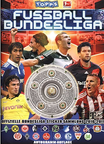 Topps. Fußball-Bundesliga. Offizielle Sticker-Sammlung 2010/2011 / Autogramm-Auflage