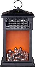 GIAO Chimenea electrica Chimenea Eléctrica 1000/2000 W Chimenea Portátil Efecto Llama Decoración Calefactor Chimenea Electrica Vertical Chimenea Eléctrica de Pared