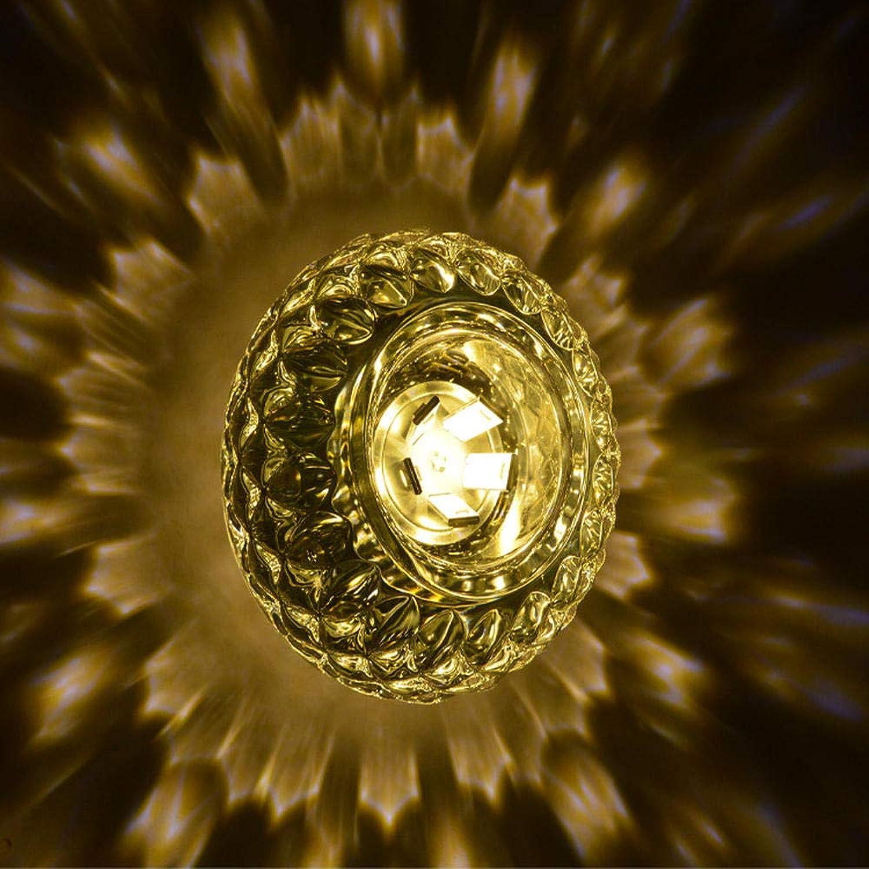 Raumdekoration Lampe Kristall Wandleuchte Led Wandleuchte Halbkreisfrmige Kristall Wandleuchte Wohnzimmer Schlafzimmer Restaurant Warmes Licht_