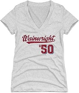 Adam Wainwright Women's Shirt - St. Louis Baseball Shirt for Women - Adam Wainwright Script