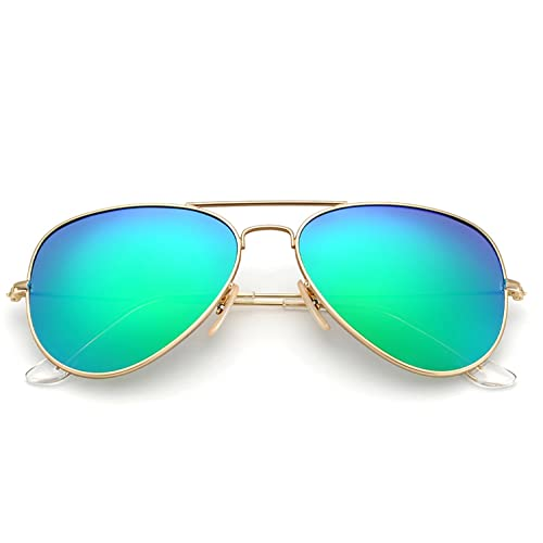 018ffa60ba4d YuFalling Polarized Aviator Sunglasses for Women and Men