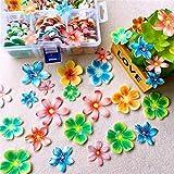 Cracklight Mariposa para Hornear Pastel de Papel de arroz Comestible Decoraciones para Pasteles Adornos para Pasteles Decoraciones para Cupcakes Pastel para postres Fiesta de cumpleaños boda-100PCS