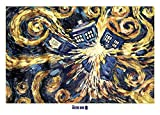Close Up Doctor Who XXL Poster Exploding Tardis (140cm x