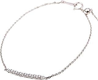 カナディアンダイヤモンド ブレスレット 計0.20ctUP [PT950] 専用ケース付
