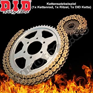 DID Kettensatz Alu Kawasaki Z1000 /ABS (ZRT00D) Bj.2010, 15 42 112 DID525VX(G&B) Niet