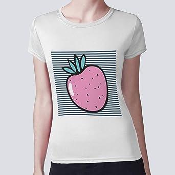 بلوزة للسيدات، فاكهة - فراولة