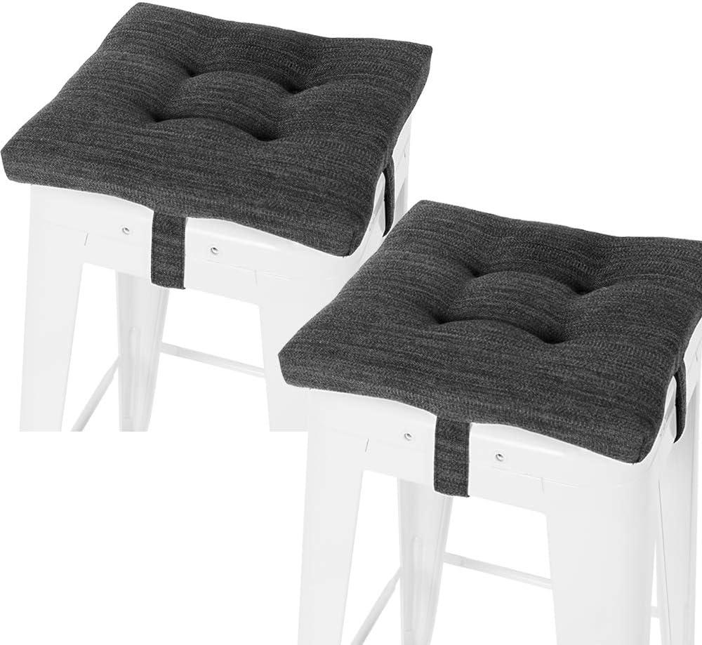 baibu Set of Max 85% OFF 2 Square Seat Bar Cushion Stool Super Soft Max 86% OFF