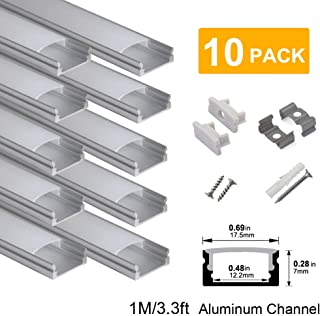 h shaped aluminum channel