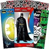 DC Comics Batman Decals Set with Additional Stickers - 3 Large Batman and Joker Decal Stickers for Car, Laptop, Walls, Room Decor (Batman Merchandise)