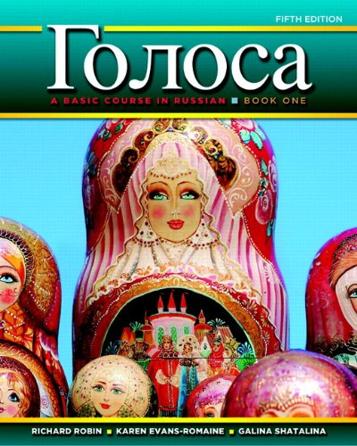 Golosa: A Basic Course in Russian, Book One Plus MyLab Russian with Pearson eText -- Access Card Package (multi-semester