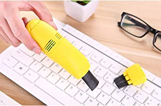 Timetided Aspirateur USB pour PC Ordinateur Portable Mini Clavier Nettoyage de la poussière Brosse nettoyant nettoyeurs d'...