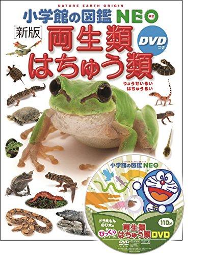 DVD付 新版 両生類・はちゅう類 (小学館の図鑑 NEO)