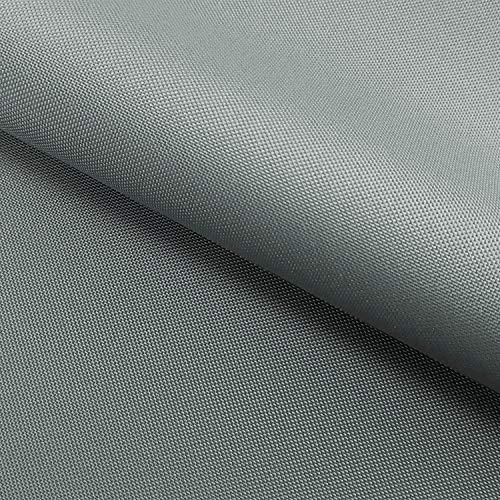 NOVELY® Oxford 210D 06 Grau | Fest gewebtes Polyester Stoff wasserabweisend robust | anschmiegsam und nachgiebig | Meterware Segeltuch