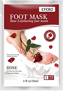 New 2019 Exfoliating Foot Peel Mask For Soft 1 Pair Baby Foot Peel - Peel (White)