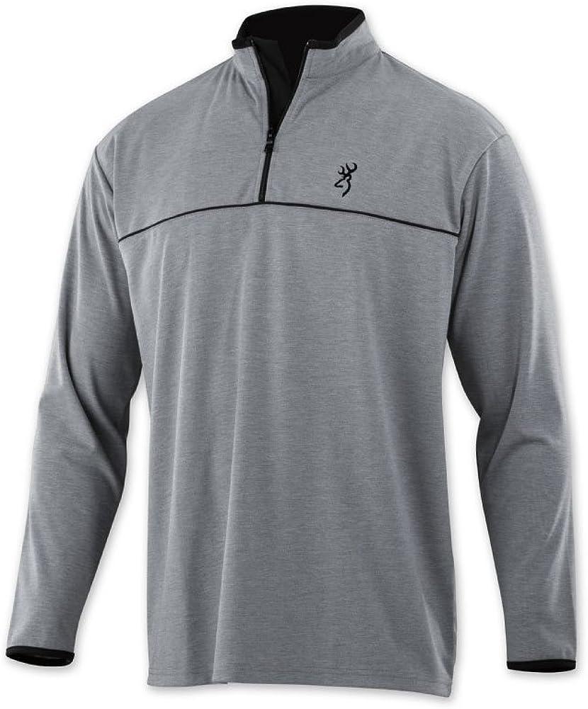 Browning Highline 1//4 Zip Shirt
