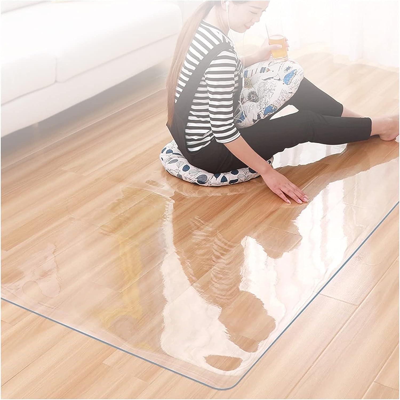 ALGXYQ Transparent Table Soldering Chair Floor Waterproof mart Mat Protection S