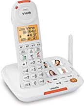VTech SN5127 Amplified Cordless Senior Phone System with 90DB Extra-Loud Visual Ringer, Big Buttons & Large Display