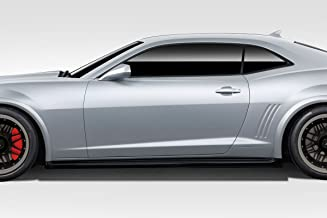 Brightt Duraflex ED-NAY-201 Z28 Look Side Skirt Rocker Panels - 2 Piece Body Kit - Compatible With Camaro 2010-2015