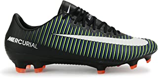 nike mercurial vapor black white