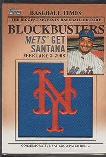 2012 Topps Johan Santana Mets Logo Insert Baseball Card #BP26