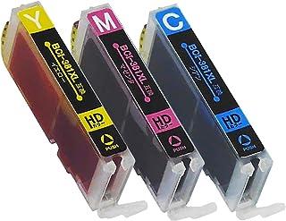 【 大容量 カラー3色セット 】 キヤノン 用 BCI-381XL 互換インク 【 シアン / マゼンタ / イエロー 】 ISO14001/ISO9001認証工場生産商品 残量表示対応ICチップ 1年保証 インクのチップスオリジナル 対応機種: PIXUS TS8230 / PIXUS TS8130 / PIXUS TS6230 / PIXUS TS6130 / TR9530 / PIXUS TR8530 / PIXUS TR7530 / PIXUS TR703