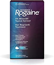 Rogaine Women's Hair Regrowth Treatment, 4 Month Supply, 2.11 oz cans, 2 ea (Pack of 12)