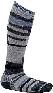 Techno Tango Knee High Charcoal Heather M Unisex Socks