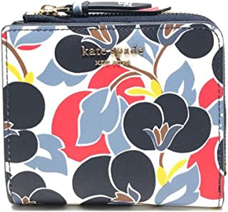 Kate Spade NY Small Cameron L-Zip Bifold Wallet in Multi Colored Floral