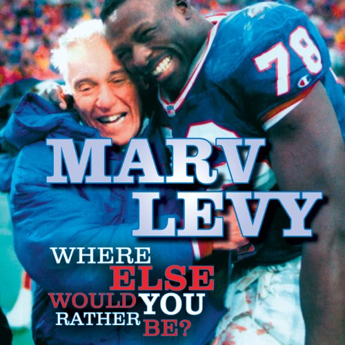 Marv Levy audiobook cover art