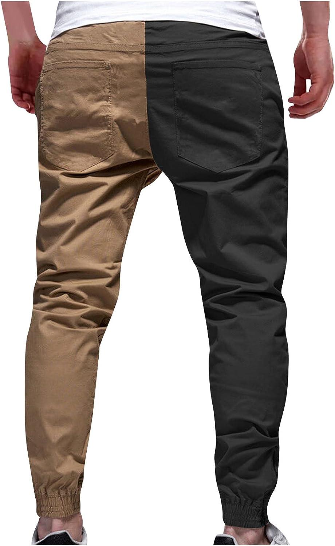 Men's Cargo Pant Color Block Baggy Joggers Harem Trouser Hop Alternative dealer Miami Mall Hip