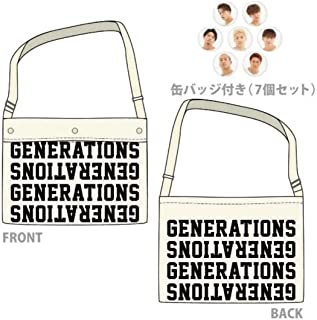 """GENERATIONS LIVE TOUR 2018 """"UNITED JOURNEY"""" ドームツアー 公式グッズ WINDOW BAG トートバッグ SPECIAL TOUR GOODS by NIGO®"""