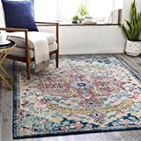 Artistic Weavers Odelia Area Rug, 5'3' x 7'3', Garnet/Navy