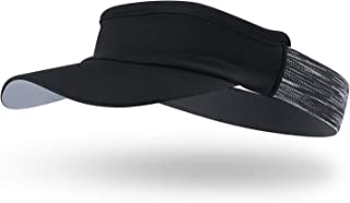 Arcweg Sun Visor Hat Women Men Sweat Absorption Sports Headband Elastic with Brim UV Protection UPF 50+ Foldable Sports Fa...