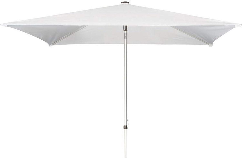 Doppler  ALUPRO Push UP 200 x 250 wei, mit UV-Schutz 80, Knicker, Hhenverstellung und abnehmbarem 240 Gramm Bezug, 808