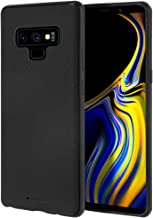 Goospery Style Lux Jelly for Samsung Galaxy Note 9 Case (2018) Thin Slim Bumper Cover (Black) NT9-STYL-BLK