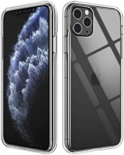 Amuoc Case for Apple iPhone 11 pro MAX Cases, Clear Anti-Scratch Shock Absorption Cover Case