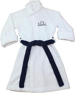 Lilala Kids Boys Bathrobe or Robe, Luxury Organic Cotton, Terry Towel Gown