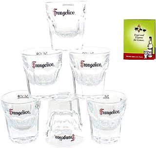 Frangelico Shot-Glas x 6 Gastro-geeicht 2 cl  Streichholz | Casablanca Glass 710805 5k2m