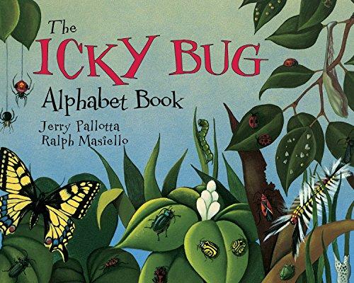 The Icky Bug Alphabet Book (Jerry Pallotta's Alphabet Books) (English Edition)