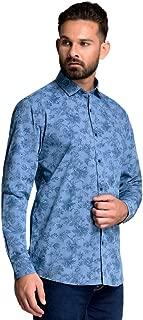ID Men Navy Slim Fit Shirt