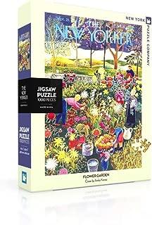 New York Puzzle Company - New Yorker Flower Garden - 1000 Piece Jigsaw Puzzle