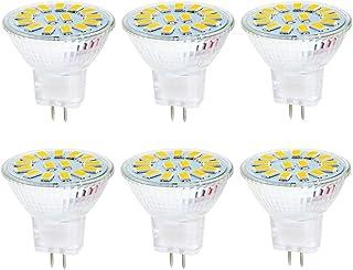4 X MR11 2.2 Watt LED Cool White 5000K Bi-Pin Light Bulb 12VAC-DC Landscape 4pcs
