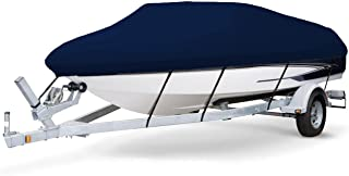 7 oz Solution Dyed Polyester Navy, Styled to FIT Boat Cover for BAYLINER 195 Classic RUNABOUT 2004-2005