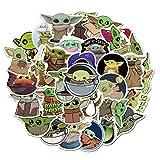Sam Gear USA Mandalorian Baby Yoda Sticker 50 Pcs